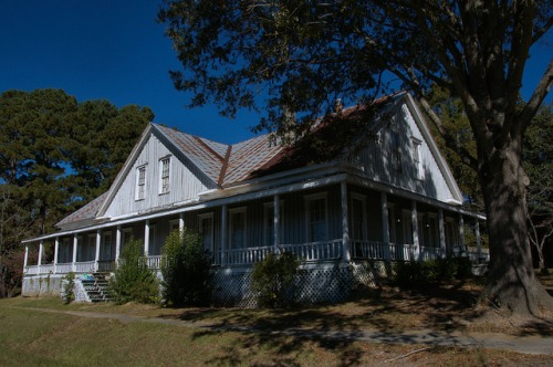 Terrace Hotel Inn Union Point GA Railroad Boarding House 1875 Photograph Copyright Brian Brown Vanishing North Georgia USA 2015