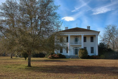 Fairplay GA Morgan County Plantation Farmhouse Photograph Copyright Brian Brown Vanishing North Georgia USA 2015