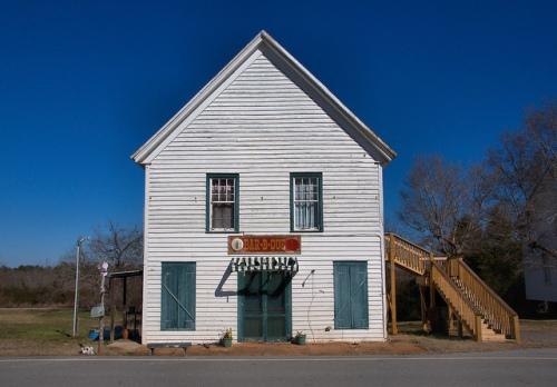 Hillsboro Masonic Lodge Jasper County GA Photograph Copyright Brian Brown Vanishing North Georgia USA 2015