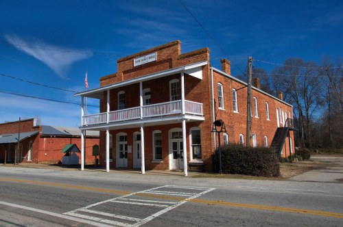 Historic Susie Agnes Hotel Bostwick GA Morgan County Photograph Copyright Brian Brown Vanishing North Georgia USA 2015