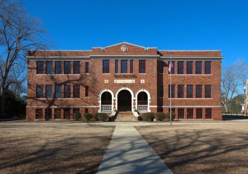 Monticello High School GA Photograph Copyright Brian Brown Vanishing North Georgia USA 2015