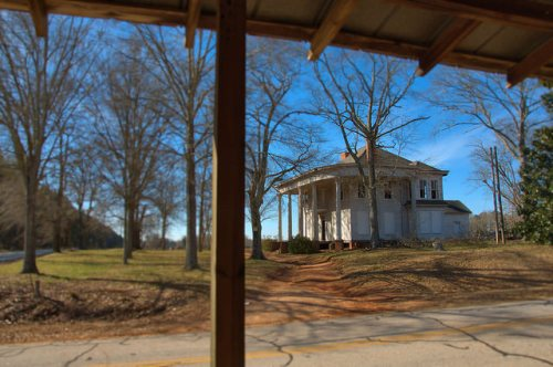 The Famous Nolan House Nolan Store View Bostwick GA Morgan County Photograph Copyright Brian Brown Vanishing North Georgia USA 2015