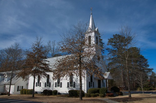 Apalachee Baptist Church Morgan County GA Photograph Copyright Brian Brown Vanishing North Georgia USA 2015