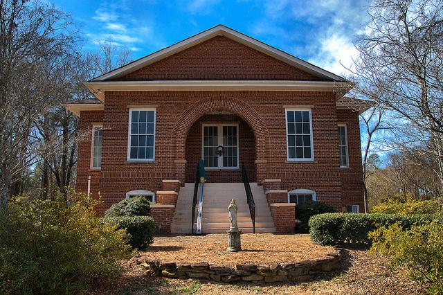 Apalachee Methodist Church Morgan County GA Photograph Copyright Brian Brown Vanishing North Georgia USA 2015