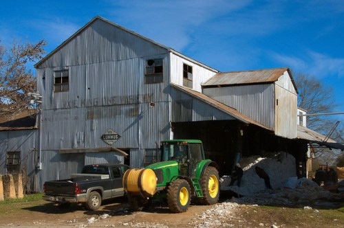 Bostwick GA Cotton Gin Dixie King One Variety Lummus Working Gin Photograph Copyright Brian Brown Vanishing North Georgia USA 2015