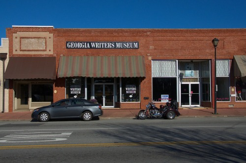 Georgia Writers Museum Eatonton GA Photograph Copyright Brian Brown Vanishing North Georgia USA 2015