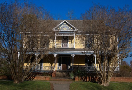 Historic Eatonton GA Early 19th Century House Photograph Copyright Brian Brown Vanishing North Georgia USA 2015