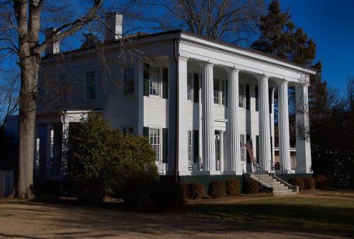 Historic Madison GA Heritage Hall Photograph Copyright Brian Brown Vanishing North Georgia USA 2015