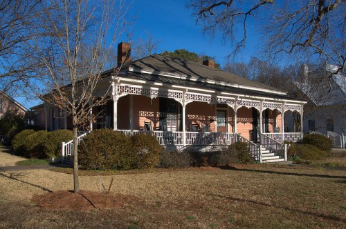 Historic Madison GA Historic House Photograph Copyright Brian Brown Vanishing North Georgia USA 2015