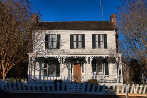 Historic Madison GA Rogers House Photograph Copyright Brian Brown Vanishing North Georgia USA 2015
