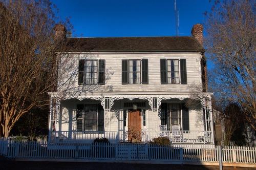 Historic Madison GA Rogers House Photograph Copyright Brian Brown Vanishing North Georgia USA 2015