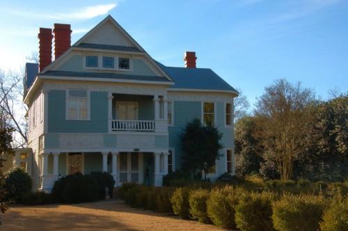 Madison GA Historic District The Magnolias Photograph Copyright Brian Brown Vanishing North Georgia USA 2015