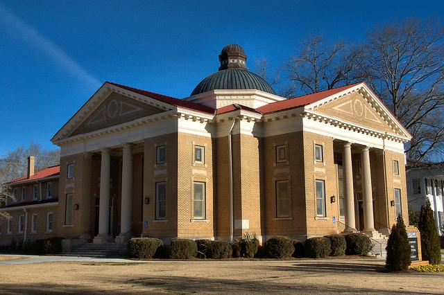 Madison United Methodist Church Photograph Copyright Brian Brown Vanishing North Georgia USA 2015