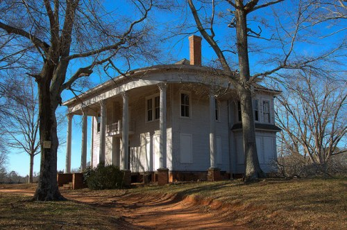 Nolan House Bostwick GA Morgan County Landmark Photograph Copyright Brian Brown Vanishing North Georgia USA 2015
