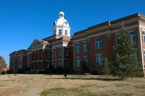 Putnam County GA Courthouse Eatonton Explore Georgia Photograph Copyright Brian Brown Vanishing North Georgia USA 2015