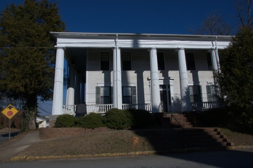 Eatonton GA Historic Bronson House Photograph Copyright Brian Brown Vanishing North Georgia USA 2015