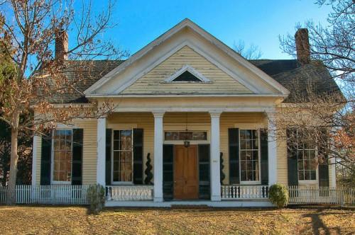 Historic Eatonton GA Gerdings Young House Photograph Copyright Brian Brown Vanishing North Georgia USA 2015