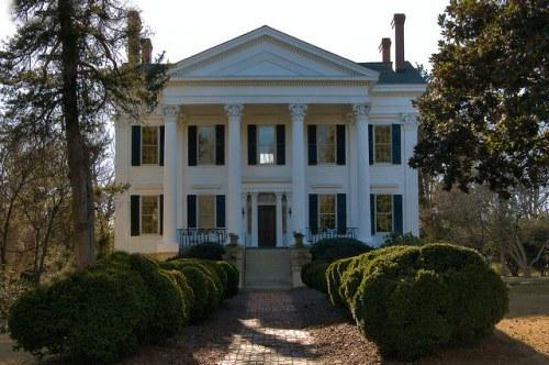 Historic Eatonton GA Reid Lawrence House Photograph Copyright Brian Brown Vanishing North Georgia USA 2015