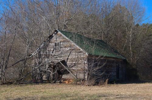 Putnam County GA Unknown Vernacular Building Photograph Copyright Brian Brown Vanishing North Georgia USA 2015