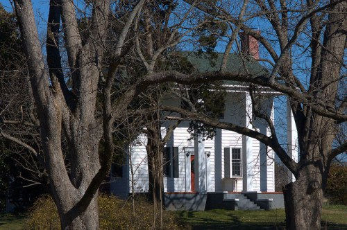 Turnwold Plantation Putnam County GA Joel Chandler Harris Antebellum Landmark Photograph Copyright Brian Brown Vanishing North Georgia USA 2015