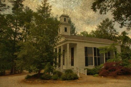 Grace Episcopal Church Clarkesville GA Habersham County Photograph Copyright Brian Brown Vanishing North Georgia USA 2015