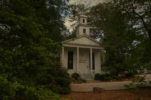 Historic Grace Episcopal Church Clarkesville GA Habersham County Photograph Copyright Brian Brown Vanishing North Georgia USA 2015