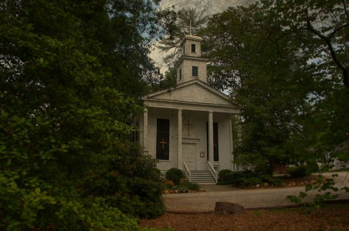 Historic Grace Episcopal Church Clarkesville GA Habersham County Photograph Copyright Brian Brown Vanishing North Georgia USA 2015