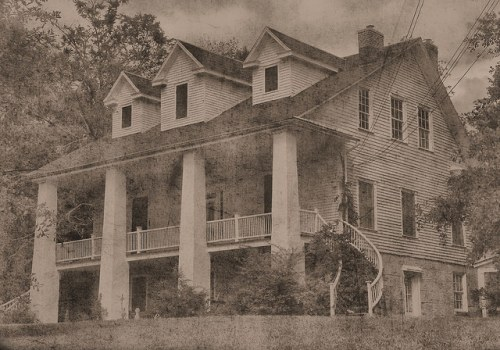 Historic Swift Oliver House Elberton GA Photograph Copyright Brian Brown Vanishing North Georgia USA 2015