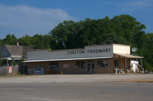Carlton Foodmart Madison County GA Photograph Copyright Brian Brown Vanishing North Georgia USA 2015