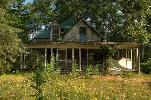 Carlton GA Madison County Abandoned House Photograph Copyright Brian Brown Vanishing North Georgia USA 2015