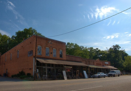 Carlton GA Madison County Historic Downtown Photograph Copyright Brian Brown Vanishing North Georgia USA 2015