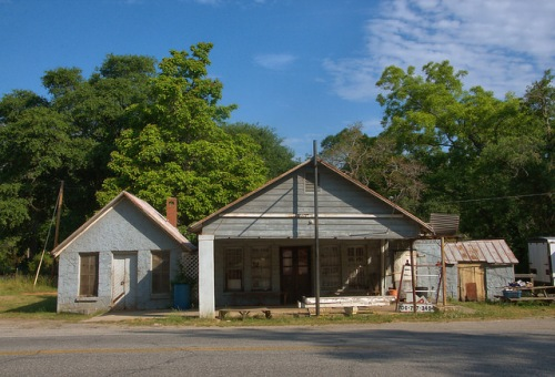 Carlton GA Madison County Roadside Store Filling Station Photograph Copyright Brian Brown Vanishing North Georgia USA 2015