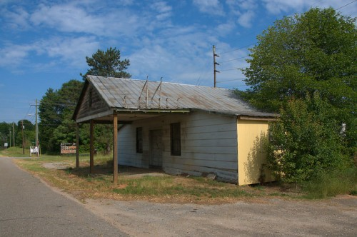 Comer GA Madison County Abandoned Roadside Store Photograph Copyright Brian Brown Vanishing North Georgia USA 2015