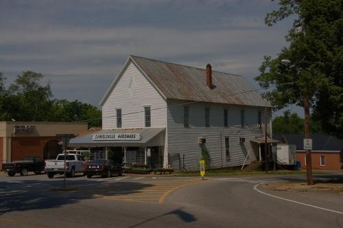 Danielsville GA Madison County Hardware Stoer Photograph Copyright Brian Brown Vanishing North Georgia USA 2015