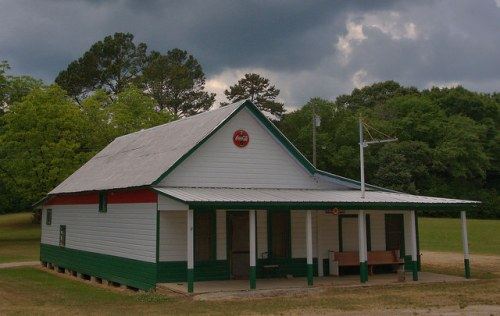 Fortsonia GA Elbert County Gilmer's Grocery Photograph Copyright Brian Brown Vanishing Norh Georgia USA 2015