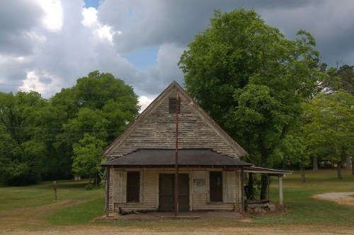 Fortsonia GA Elbert County J C Hudson Store Photograph Copyright Brian Brown Vanishing North Georgia USA 2015