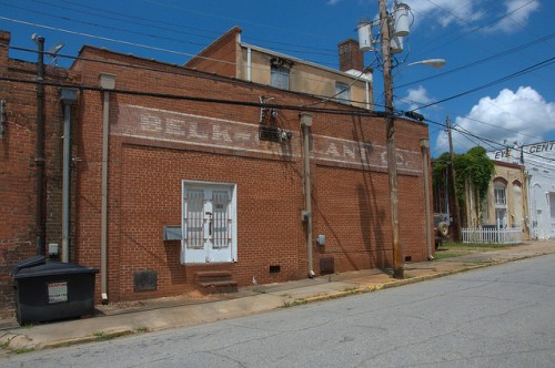Historic Washington GA Belk Gallant Store Mural Photograph Copyright Brian Brown Vanishing North Georgia USA 2015