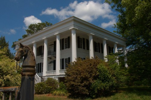 Historic Washington GA Tupper Barnett House National Historic Landmark Photograph Copyright Brian Brown Vanishing North Georgia USA 2015