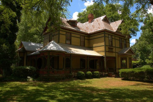 Historic Washington GA Wilkes County James Hynes House Photograph Copyright Brian Brown Vanishing North Georgia USA 2015