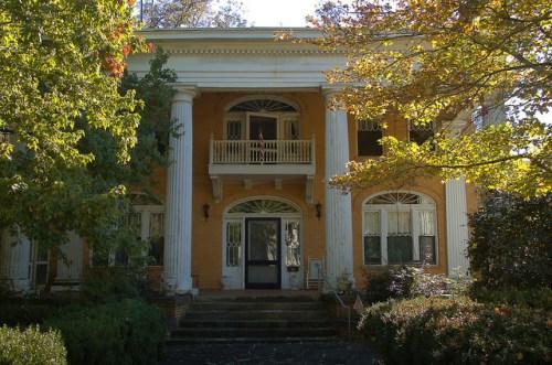 Historic Washington GA Wilkes County Wagner House Photograph Copyright Brian Brown Vanishing North Georgia USA 2015