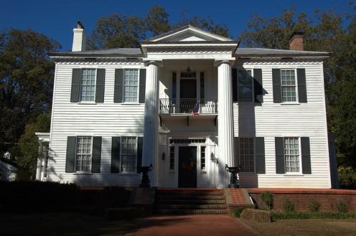 Historic Washington GA Wilkes County Wisteria Hall Photograph Copyright Brian Brown Vanishing North Georgia USA 2015