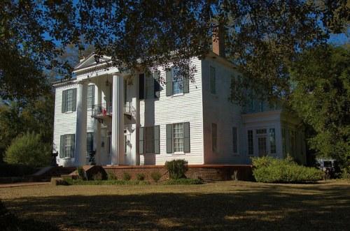 Historic Wisteria Hall Washington GA Wilkes County Photograph Copyright Brian Brown Vanishing North Georgia USA 2015