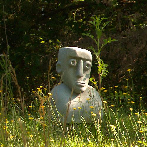 Outsider Art Sculpture Carlton GA Madison County Photograph Copyright Brian Brown Vanishing North Georgia USA 2015
