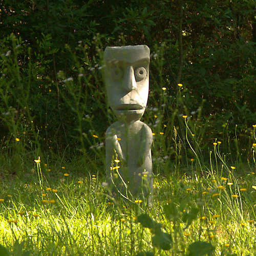 Outsider Art Sculpture Whimsical Carlton Madison County GA Photograph Copyright Brian Brown Vanishing North Georgia USA 2015
