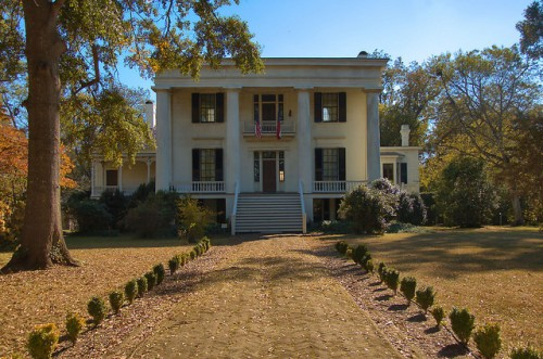Robert Toombs House Historic Washington GA Wilkes County National Historic Landmark Photograph Copyright Brian Brown Vanishing North Georgia USA 2015