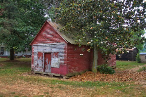 Vanna GA Hart County Commissary Store Photograph Copyright Brian Brown Vanishing North Georgia USA 2015