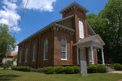 Washington GA Lafayette Lodge Masonic Hall Photograph Copyright Brian Brown Vanishing North Georgia USA 2015