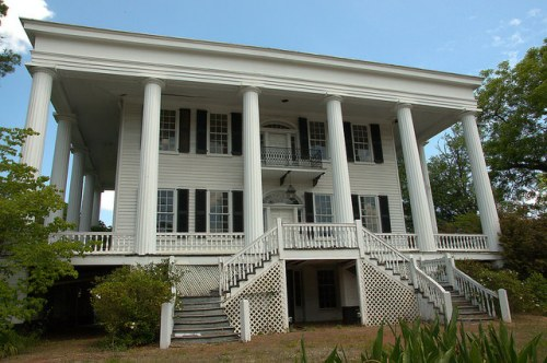 Washington GA Tupper Barnett House Photograph Copyright Brian Brown Vanishing North Georgia USA 2015