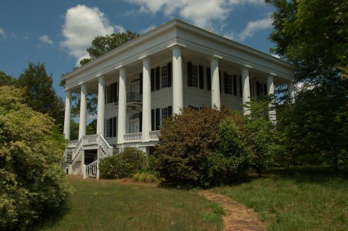 Washington GA Wilkes County National Historic Landmark Tupper Barnett House Photograph Copyright Brian Brown Vanishing North Georgia USA 2015