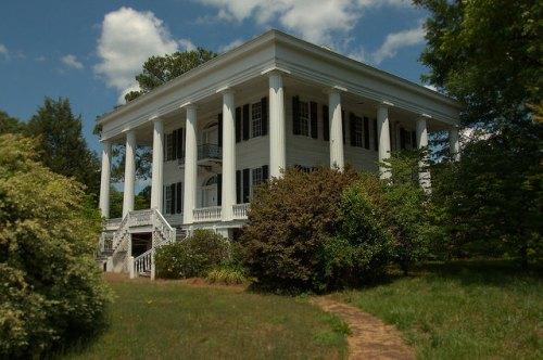 Washington GA Wilkes County National Historic Landmark Tupper Barnett House Photograph Copyright Brian Brown Vanishing North Georgia USA 2015